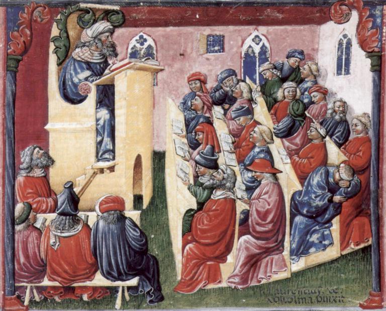 Universität des henricus de alemannia universität bologna um 1380