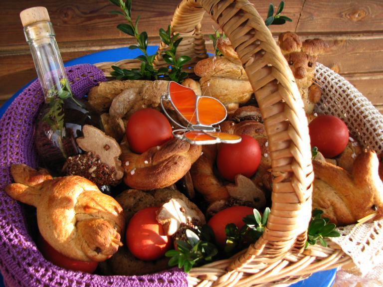 Speisensegnung Ostern