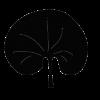nierenförmig / reniform