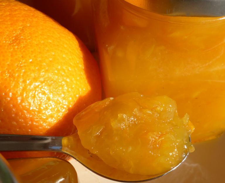 Orangenmarmelade selbst gemacht